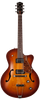 Godin 5th Avenue CW Kingpin II HB Electro Acoustic Guitar, Cognac Burst