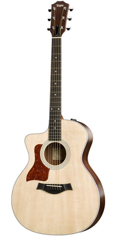 Taylor 214ce Left Handed Electro Acoustic Guitar -  - ROSE MORRIS - Left Handed Acoustic Guitars - 2