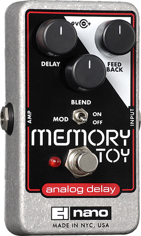 Electro Harmonix Memory Toy Analog Delay / Modulation
