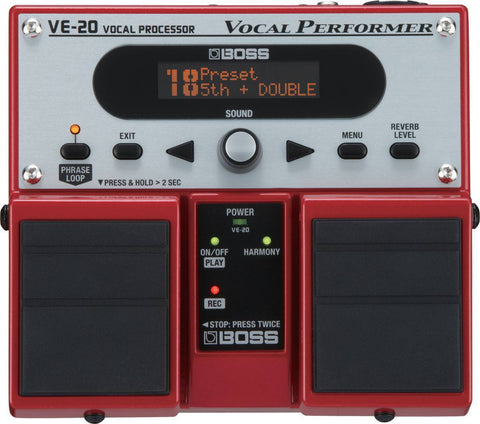 BOSS VE20 Vocal Peformer Effects Pedal -  - ROSE MORRIS - Live performance - 1