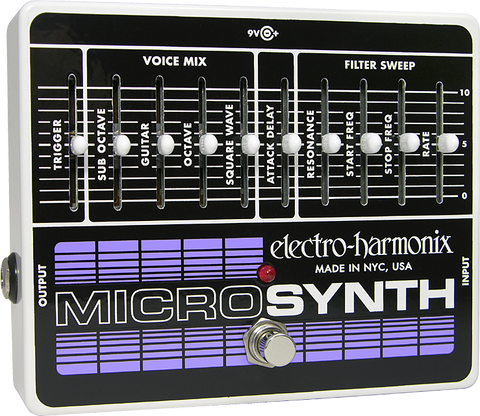 Electro Harmonix Micro Synth Analog Guitar Microsynth