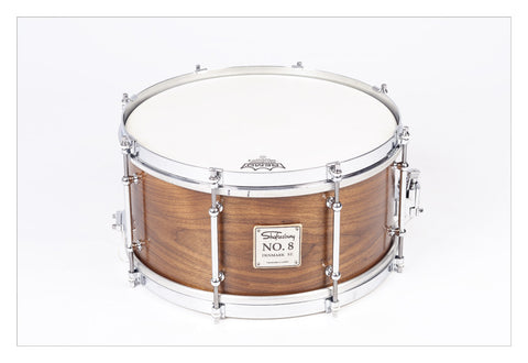 Shaftesbury No.8 Walnut Birch Snare, Vintage Gloss 13*6.5 -  - ROSE MORRIS - Snare Drums