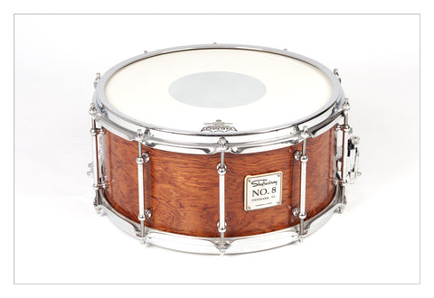 Shaftesbury No.8 Kevazingo Birch Snare With S-Hoops 14*6.5 -  - ROSE MORRIS - Snare Drums