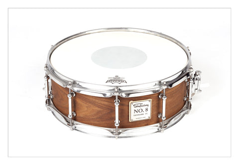Shaftesbury No.8 Walnut Birch Snare 14*5 -  - ROSE MORRIS - Snare Drums