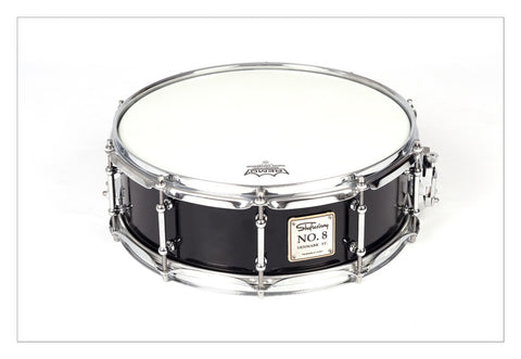 Shaftesbury No.8 Birch Snare, Gloss Black 14*5 -  - ROSE MORRIS - Snare Drums