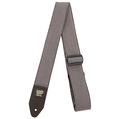 Ernie Ball 4057 Denim Guitar Strap Slate Grey