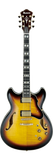 Ibanez AS153 Electric Guitar Antique Yellow Sunburst