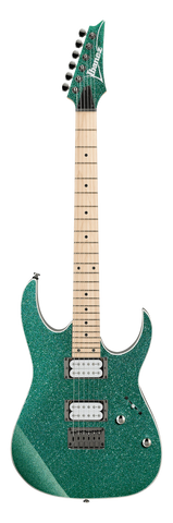 Ibanez  RG421MSP-TSP RG Series Turquoise Sparkle