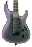 Ibanez S671ALB-BAB Axion Label S Series Black Aurora Burst