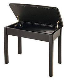 Kawai Box Stool - Satin Black - ROSE MORRIS - Piano Essentials - 1