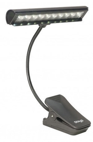 Stagg Clip-On Orchestra Lamp -  - ROSE MORRIS - Piano Essentials