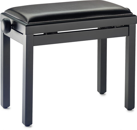 Stagg PBF 39 Rise and Fall Stool, Matt Black -  - ROSE MORRIS - Piano Essentials