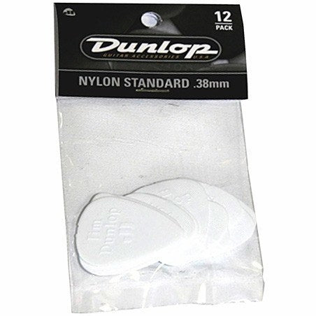 Jim Dunlop Nylon Standard Picks, Pack of 12 -  - ROSE MORRIS - Picks - 1