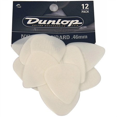 Jim Dunlop Nylon Standard Picks, Pack of 12 -  - ROSE MORRIS - Picks - 2