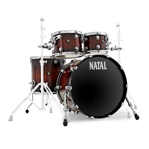 Natal Cafe Racer UF22 Drum Kit Exotic Burst