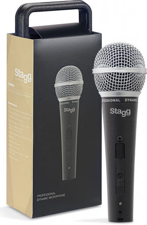 Stagg SDM50 Dynamic Microphone and Cable -  - ROSE MORRIS - Microphones