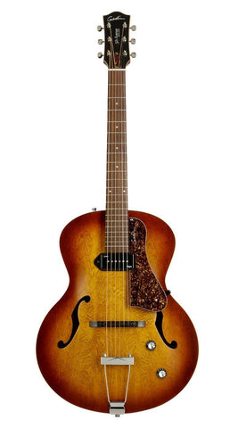 Godin 5th Avenue Kingpin P90 Electro  Acoustic Guitar, Cognac -  - ROSE MORRIS - Semi Acoustic Electric Guitars - 2