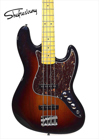 Shaftesbury 3416 Bass Guitar, Sunburst