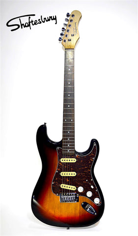 Shaftesbury 3417 Electric Guitar, Sunburst