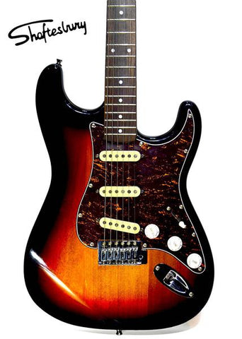Shaftesbury 3417 Electric Guitar Sunburst
