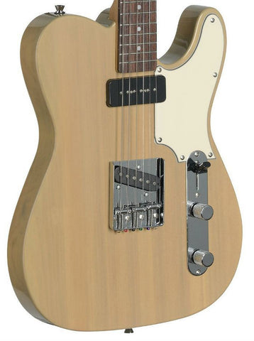 Stagg SET-CST Electric Guitar, Blonde -  - ROSE MORRIS - Solid Body Electric Guitars - 1