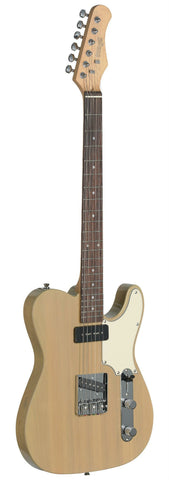 Stagg SET-CST Electric Guitar, Blonde -  - ROSE MORRIS - Solid Body Electric Guitars - 2