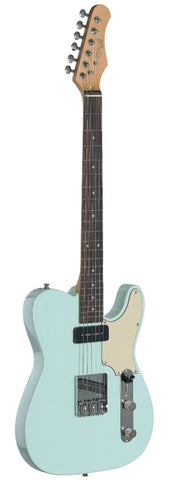 Stagg SET-CST Electric Guitar, Sonic Blue -  - ROSE MORRIS - Solid Body Electric Guitars - 2