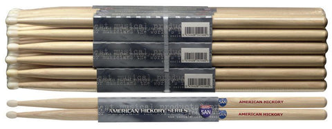 Stagg Hickory Sticks, Nylon Tips -  - ROSE MORRIS - Sticks & Brushes - 1