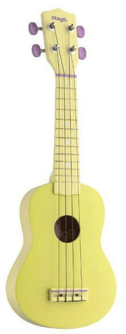 Stagg US Soprano Ukulele, Yellow -  - ROSE MORRIS - Ukuleles