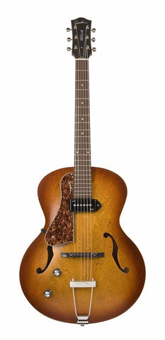 Godin 5th Avenue Kingpin P90 Left-Handed Electro Acoustic Guitar, Cognac Burst