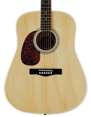 Woodstock Left Handed Dreadnought Acoustic Guitar