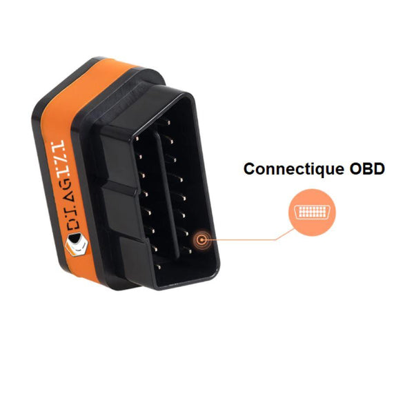 Interface de Diagnostic OBD2 Diagizi