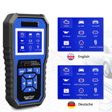 KONNWEI KW450 OBD2 Diagnostic Tool for VAG Cars VW Audi ABS Airbag Oil ABS EPB DPF SRS TPMS Reset Full Systems Scanner VAG COM Diagizi