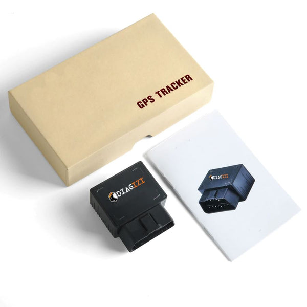 OBD II GPS Tracker 16PIN OBD Plug Play Car GSM OBD2 Tracking Device GPS locator OBDII with online Software IOS Andriod APP Diagizi