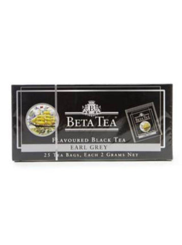 BETA EARL GREY CAY 25 ED-LI TEABAG