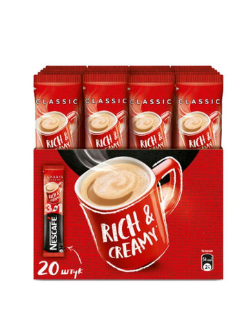 NESCAFE 3IN1 CLASSIC NESTLE 20X16G