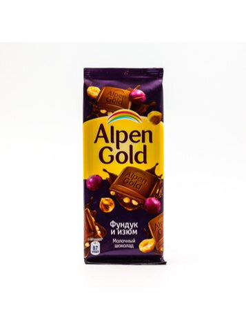 ALPEN GOLD FINDIQ VE UZUM SOKOLAD 90Q