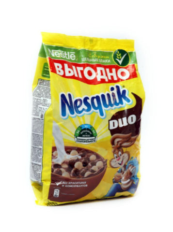 NESQUIK DUO CEREAL 700QR BAG