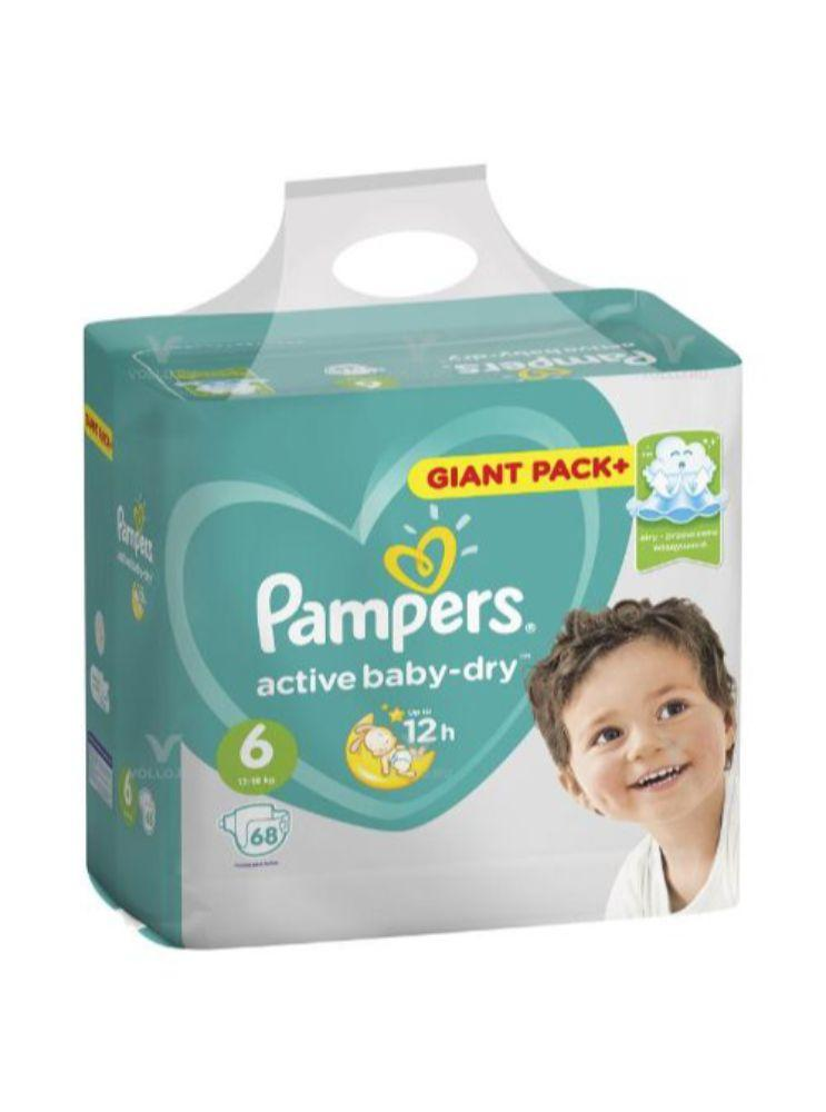 PAMPERS GIANT PACK USAQ BEZI S6 68 EDED