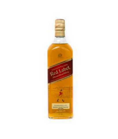 Johnnie viski walker red label 1 l