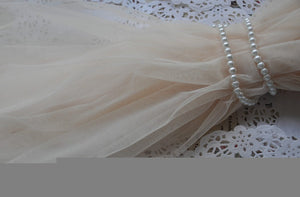 Ivory  Grenadine Lace Fabrics, tulle gauze , wedding Mesh Fabric Wedding Gown Fabrics Supplies Costume Supplies