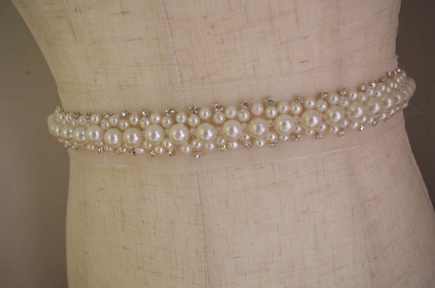rhinestone and pearl bead trimming on sale hot selling