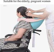 UNIVERSAL PREGNANT WOMAN LOOKING UP SHAMPOO ARTIFACT Beauty - URANIFY