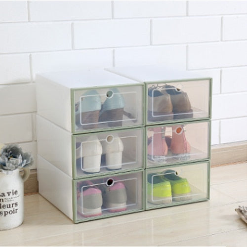 NEW DRAWER TYPE SHOE BOX (6PCS) - URANIFY