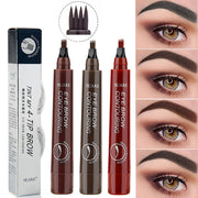 Waterproof 4 Points Eyebrow Pen - URANIFY