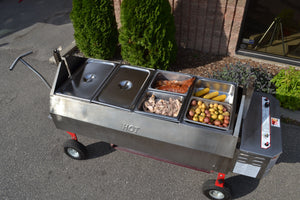 The Portable Steam-Table Cooking Center