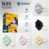 VSHIELD™ 5 Layered N95 Reusable Non Medical Mask with Respirator | Set of 5 - Finezz