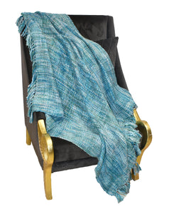 "Finezz All Season Acrylic Throw | Soft, Cozy, Woven | 50"" x 60"" for Sofa, Couch, Bed, Chair