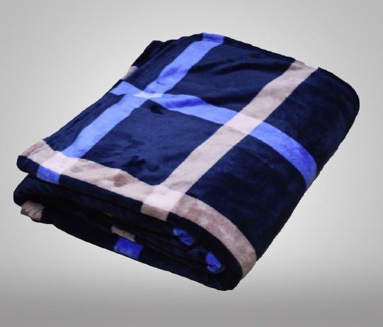 Premium AC Comforter Flannel Printed for Double Bed By Homzz - Finezz