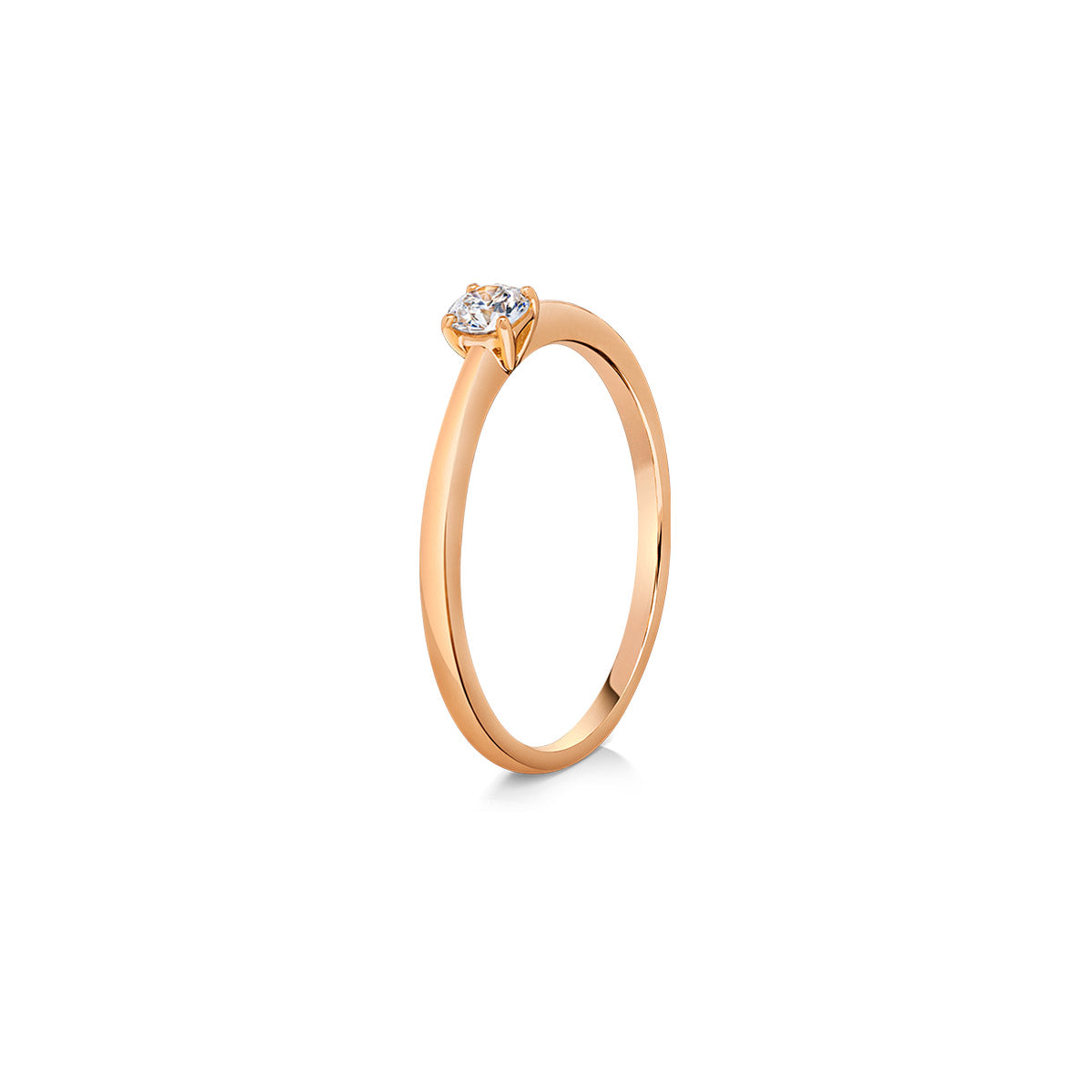 THIN SOLITAIRE ENG. RING